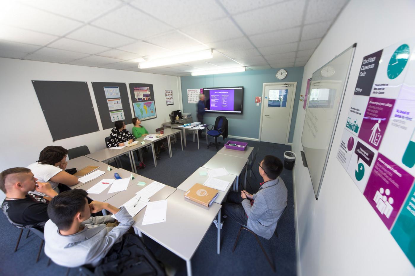 Classroom at St.Josephs