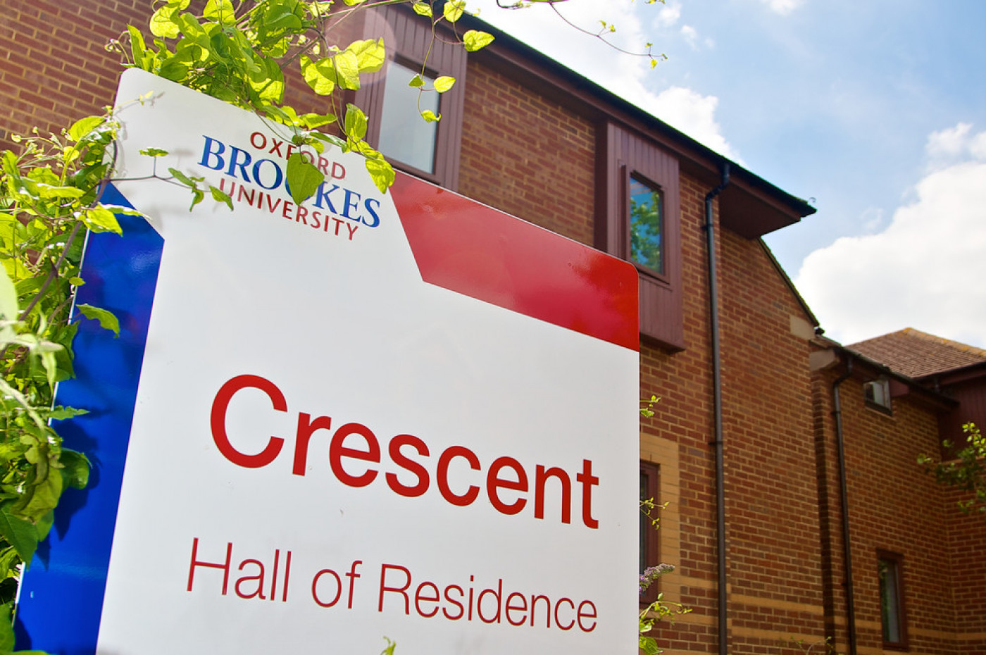 Outside Crescent Hall