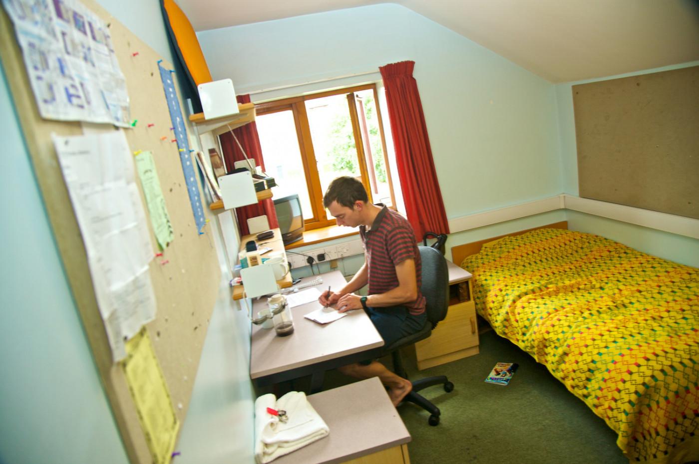 Single bedroom in Crescent Hall